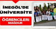 İnegöl'de Üniversite Öğrencileri Mağdur