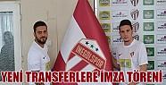 İnegölspor'da  yeni transferlere imza töreni!