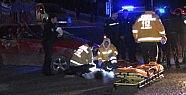 Kağıthane'de feci kaza: 1 ölü, 1 yaralı