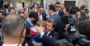 Kayseri'de Türbe Ziyaret Etti
