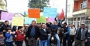 "Köylülerden ""renkli"" Protesto"