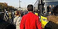 Metrobüs Okmeydanı'nda arızalanınca...