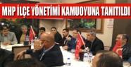 MHP İnegöl İlçe Yönetimi Kamuoyuna Tanıtıldı