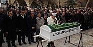 O cenaze namazına Bakan Eroğlu da katıldı