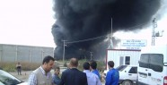 Organize Sanayi Bölgesinde Büyük Yangın!