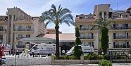 Otelde zehirli gaz paniği: 41 kişi hastanelik