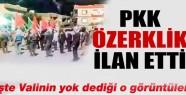 PKK Cizre'de özerklik ilan etti iddası yalan mı doğrumu? işte o görüntüler!