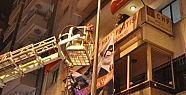 Polis O Pankartı Indirdi