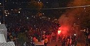 Şampiyonluğu 'Bursaspor' tezahüratlarıyla