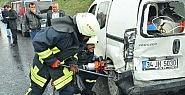Tem otoyolu'nda zincirleme kaza: 9 yaralı