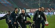 Trabzonsporlu futbolcu hastaneye