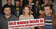 Tuğba Altıntop'tan İnegöl'de uyuşturucu ile mücadeleye destek