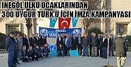 Ülkü Ocaklarından Uygur Türkleri İçin İmza Kampanyası