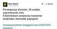 Ünlü Diziye Hacker şoku!