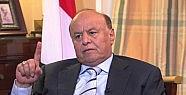 Yemen Devlet Başkanı Riyad'a geçmiş