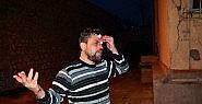 Zonguldak'ta Iraklının Kafasında şişe