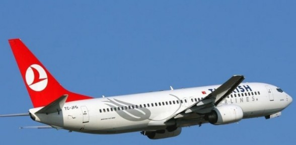 THY uçağı Danimarka'ya acil iniş yaptı