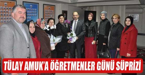 Tülay Amuk'a Öğretmenler Günü sürprizi