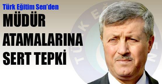 Türk Eğitim-Sen'den müdür atamalarına tepki
