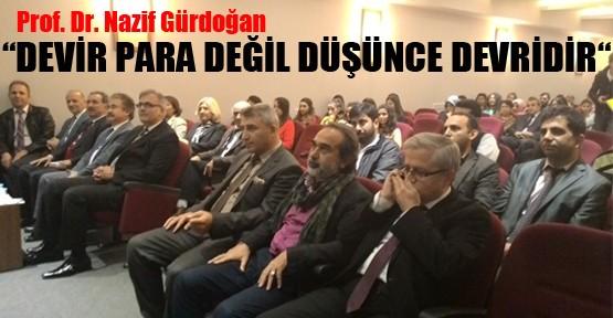 Türkiye'de Girişimcilik ve Girişim Kültürü Konferansı Düzenlendi