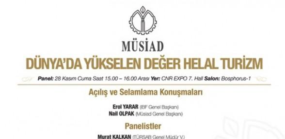 """Türkiye'de Ilk Kez """"helal Turizm"""" Konuşulacak"""