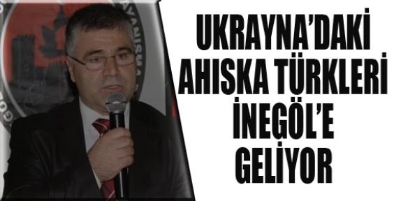 Ukrayna'daki Ahıska Türkleri İnegöl'e geliyor