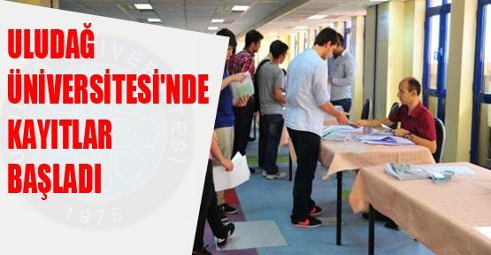 Uludağ Üniversitesi`nde kayıtlar başladı