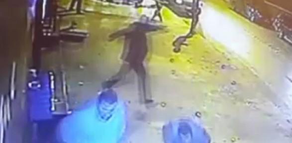 Ümit Karan'ın Barı Işte Böyle Kurşunlandı