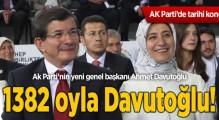 AK Parti'nin yeni genel başkanı Ahmet Davutoğlu