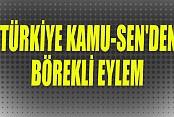 Türkiye Kamu-sen'den Börekli Eylem