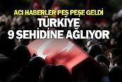 Türkiye 8 Şehidine Ağlarken 1 Şehit Haberi Daha Geldi