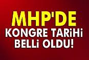 MHP'de kongre tarihi belli oldu