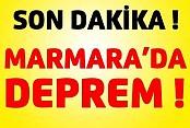Marmarada deprem!