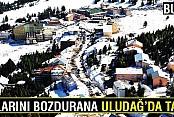 Dolarını bozdurana Uludağ'da tatil