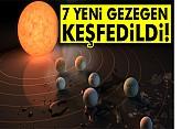 NASA: Dünya'ya benzer 7 gezegen bulundu
