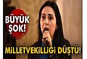 HDP Eş Genel Başkanı Figen Yüksekdağ'ın milletvekilliği düştü