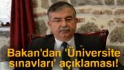 Milli Eğitim Bakanlığı'ndan 'Üniversite sınavları' açıklaması!