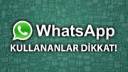Watsapp mesajlarınız tehlikede olabilir!