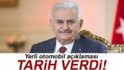 Başbakan Yıldırım'dan yerli otomobil açıklaması