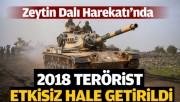 TSK: 2018 terörist etkisiz hale getirildi