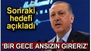 Erdoğan'dan Sincar'a operasyon mesajı