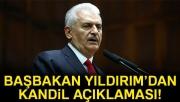 Başbakan Yıldırım'dan Kandil açıklaması