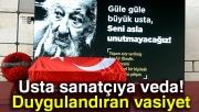 Usta sanatçı Ara Güler'e veda!