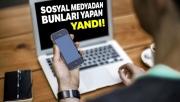 Tehdit, hakaret ve şiddet içerikli paylaşımlar yapanlar yandı