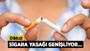 Cumhurbaşkanı Erdoğan açıkladı! Sigara yasağı genişliyor