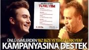 Ünlü isimlerden 'Biz Bize Yeteriz Türkiyem' kampanyasına destek