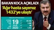 Türkiye'de bugün hayatını kaybedenlerin sayısı: 68
