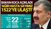 Türkiye'de bugün koronavirüsten hayatını kaybedenleri sayısı: 65