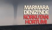 Marmara Denizi'nde korkutan hortum