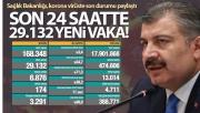 Türkiye'de son 24 saatte 29.132 koronavirüs vakası tespit edildi